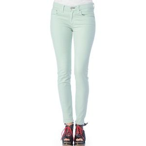 Rag & Bone Mint Green/Blue Legging Jeans Size 26